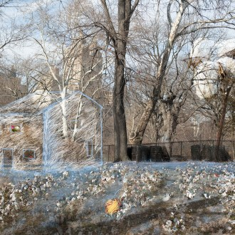 The First Settler, Andrew Williams, Cotton, by John Dowell artist photographer