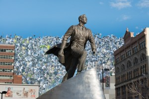 Adam Clayton Powell, Cotton, by John Dowell artist photographer
