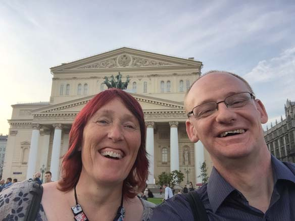 Outside The Bolshoi