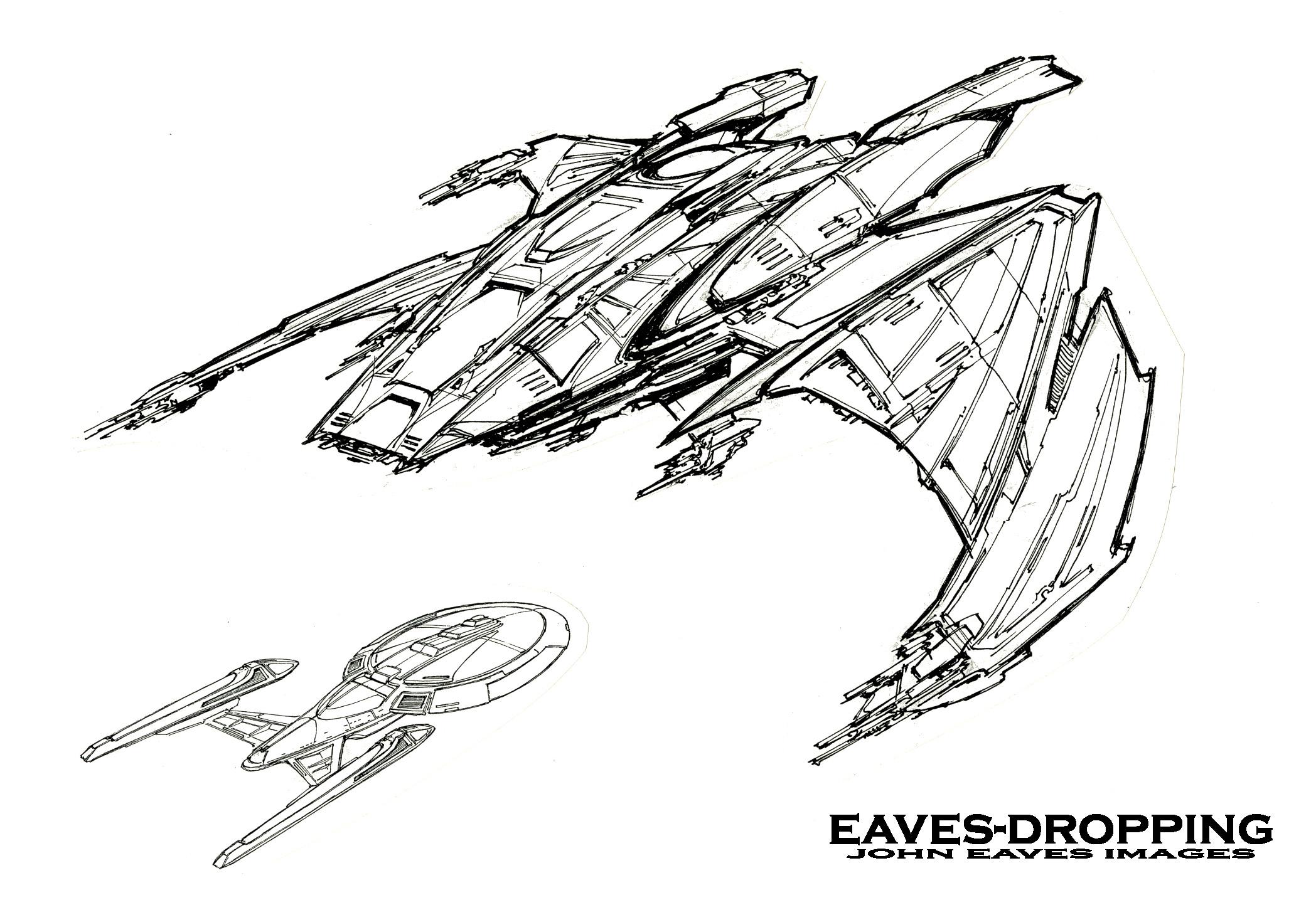 Naves Klingon Las Mas Alucinantes Star Trek