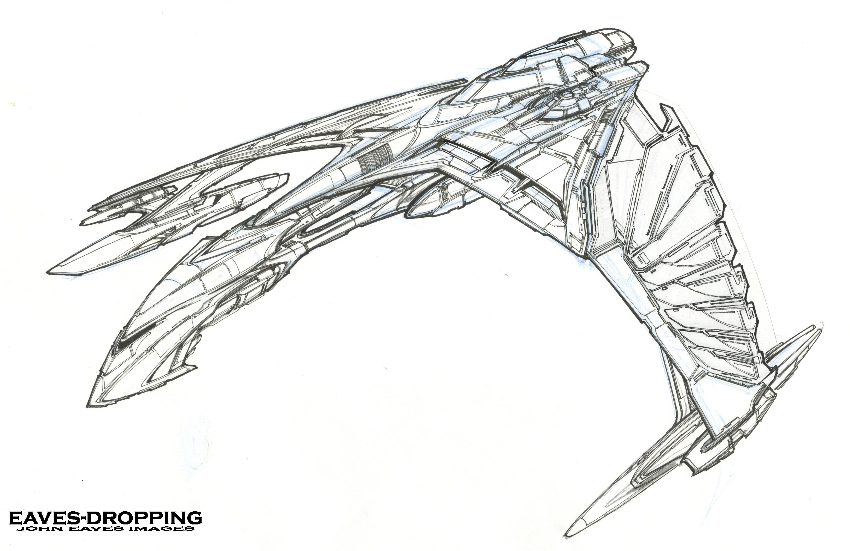 art of the romulan warbird valdore, (day one