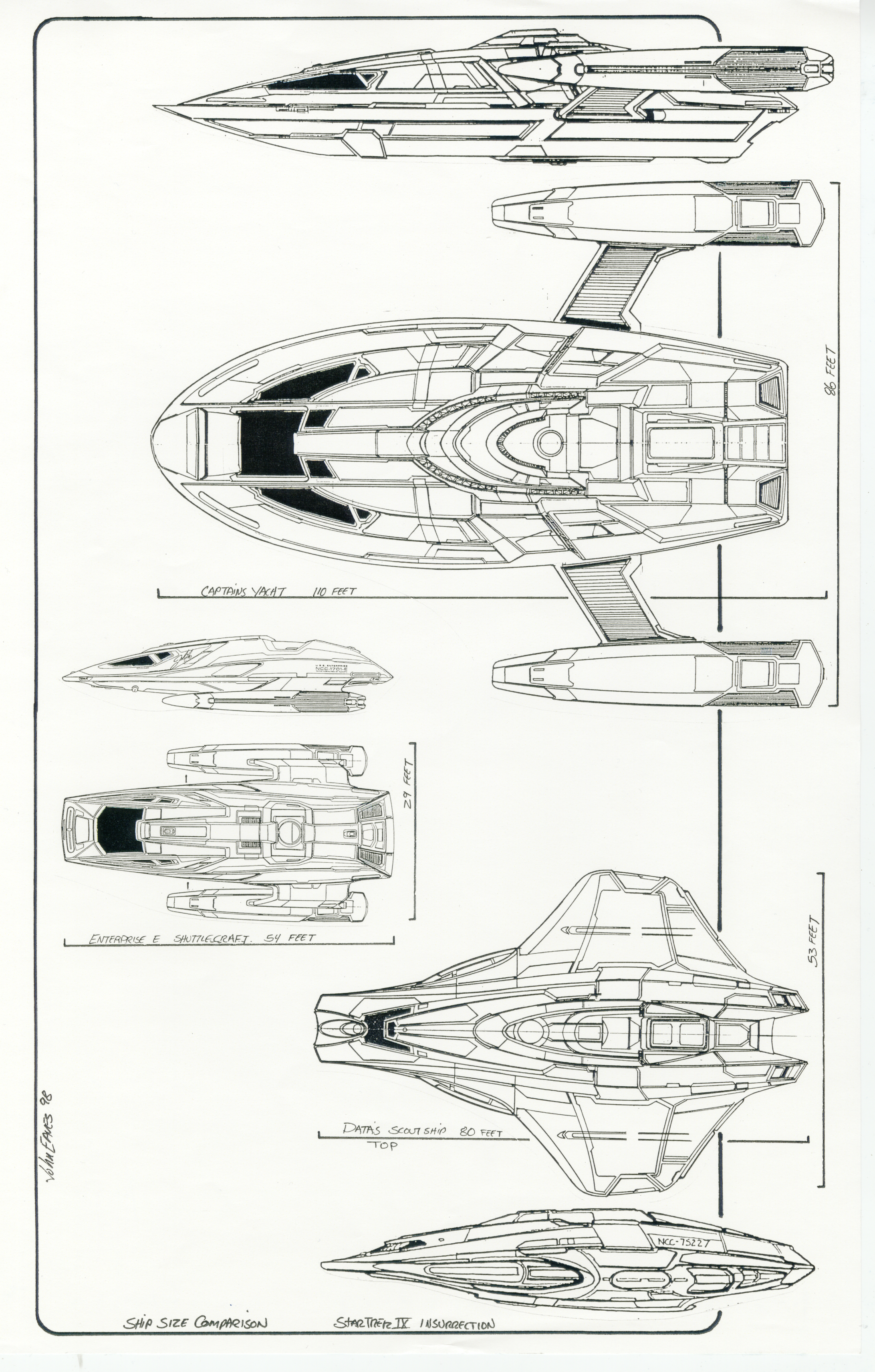 post #2 for 5-10-10, ship scales from Star trek