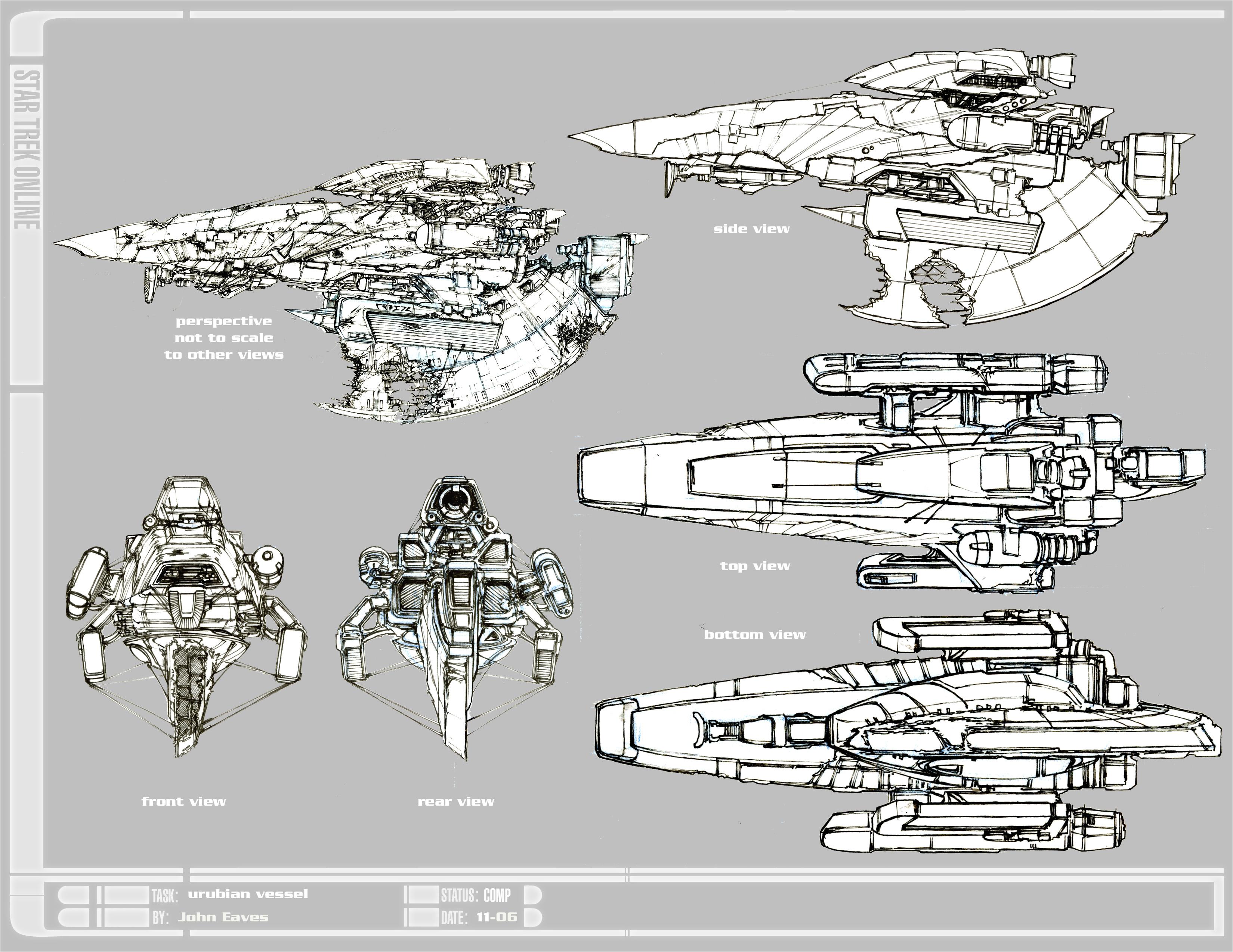 Sci Fi Cargo Ships