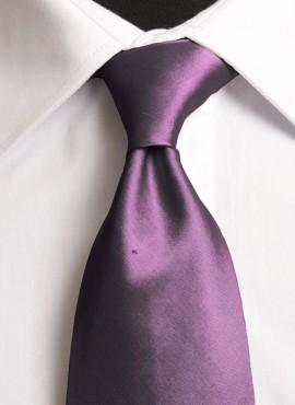 Amethyst Standard Tie (+ Handkerchief)