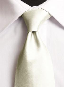 Cream Standard Tie (+ Handkerchief)