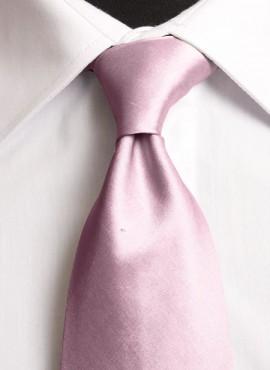 Pink Standard Tie (+ Handkerchief)