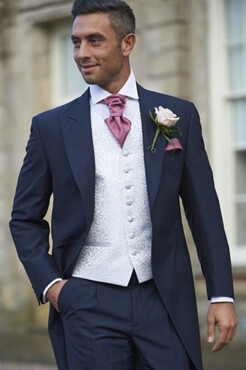 Navy Mohair Tailcoat (Full Package)