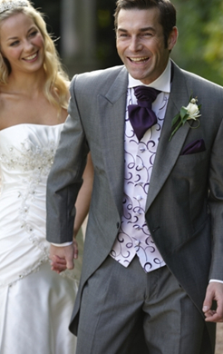 Silver Grey Mohair Tailcoat (Full Package)