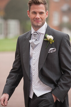 Charcoal Mohair Tailcoat (Full Package)
