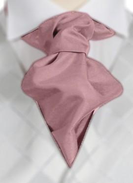 Rose Ruche Tie (+ Handkerchief)