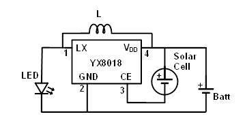 12 volt wiring diagram for garden lights 2003 ford windstar converting led solar powered a doll s house john batt is 1 2v cell
