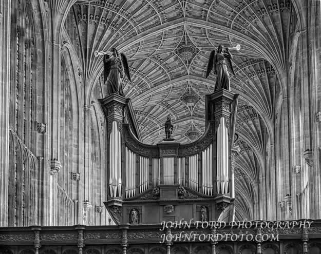 KINGS COLLEGE ORGAN, ENGLISH CATHEDRALS