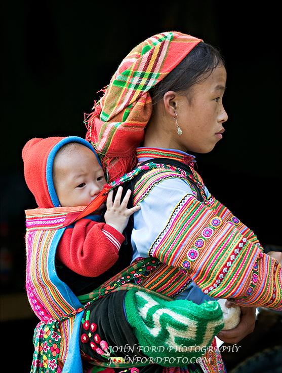 MONTEGARD WOMAN & BABY 5, VIET NAM