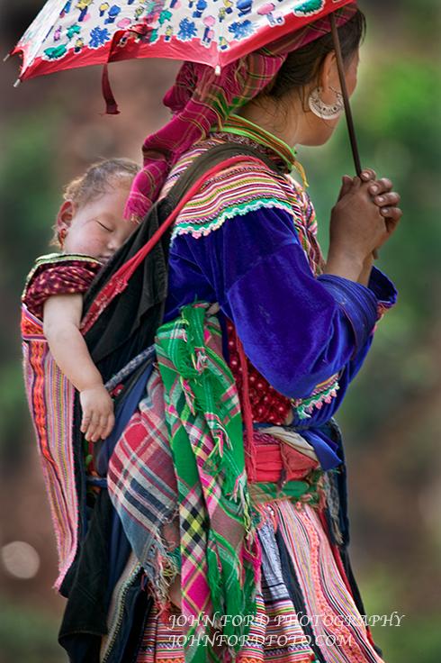 MONTEGARD WOMAN & BABY 4, VIET NAM