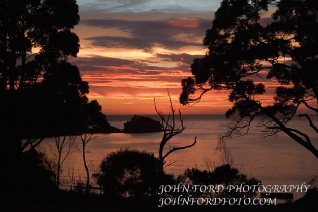 FREYSENET SUNRISE, TASMANIA