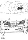 4, Lincoln, childs home, elongated saucer manifesting from cl