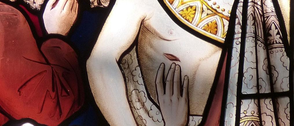 """St. Vincent de Paul's Inner """"Doubting Thomas"""""""