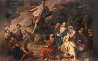 """Jesus Ascension -""""The Before"""" and """"The After""""Jesus,"""