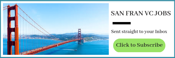 Venture Capital Jobs In San Francisco Yet Another Ex Vc Blog