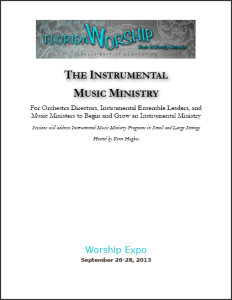 Starting an Instrumental Music Ministry