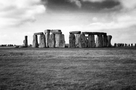 stonehenge bw