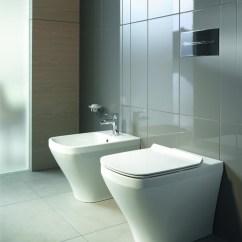 Free Standing Kitchen Cabinets Splash Guard Duravit Durastyle Btw 215009 & 228410   Johngoslett.co.uk