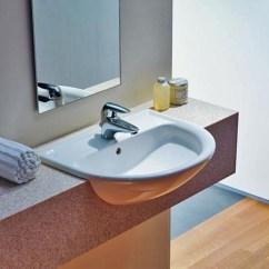 Undercounter Kitchen Sink Hood Sale Laufen Semi Recessed Basin Pro B 812951 | Johngoslett.co.uk