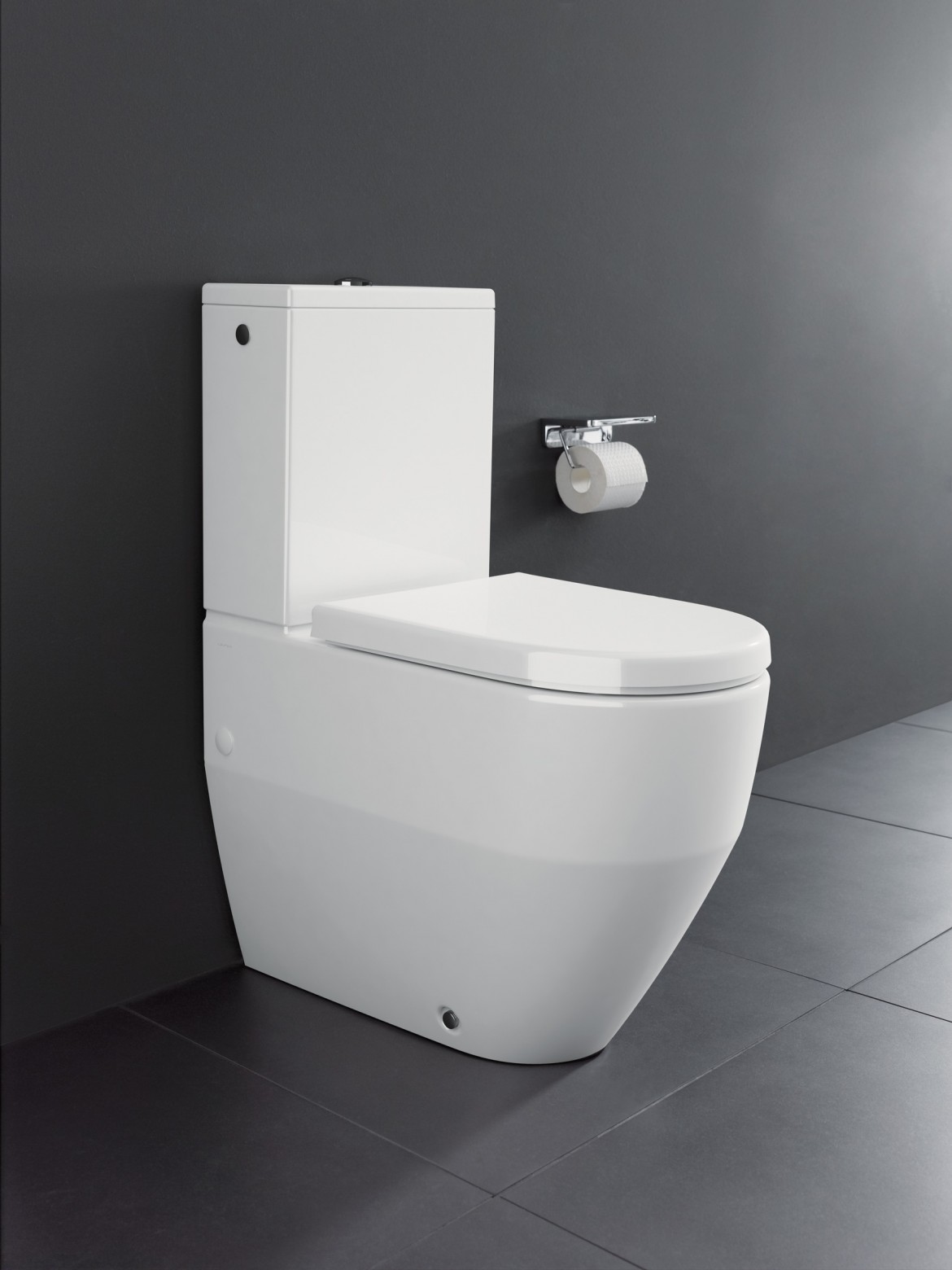 Laufen Pro 825952 fully BTW closed coupled wc pan