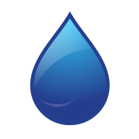 water drop padding