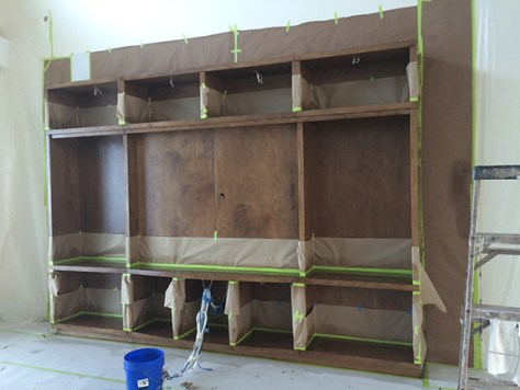 built in custom cabinets