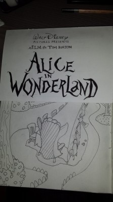 Alice In Wonderland - Table Influence