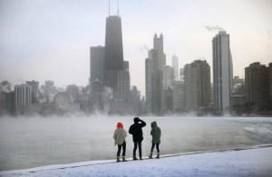 Sub-Zero Temperatures Put Chicago Into Deep Freeze