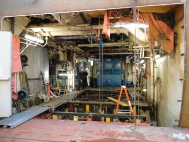 Carnival Splendor Engine Room