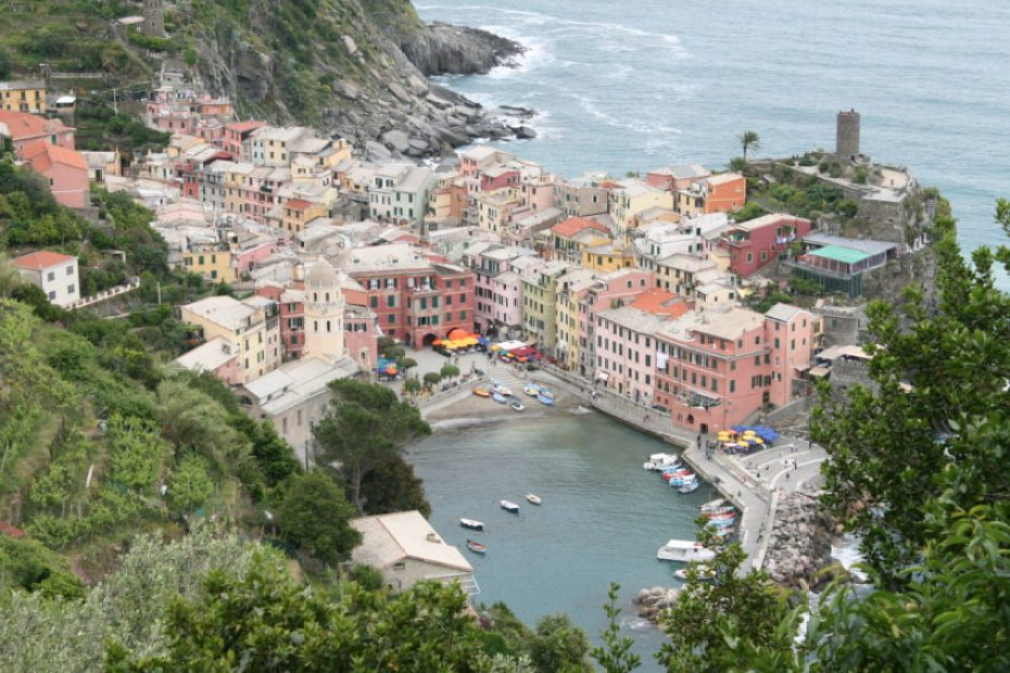 Less than three years ago, a mudslide that killed nine buried Vernazza. Today, it's again the prettiest town in Cinque Terre.