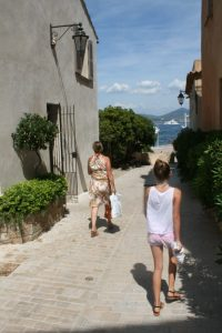 Not all of Saint-Tropez is bustling.