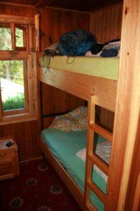 My room in Zankovskeho chata.