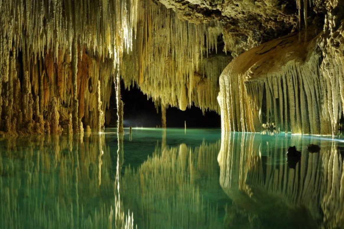 Rio Secreto is 2 million years old and stretches 20 miles underground near Playa del Carmen.