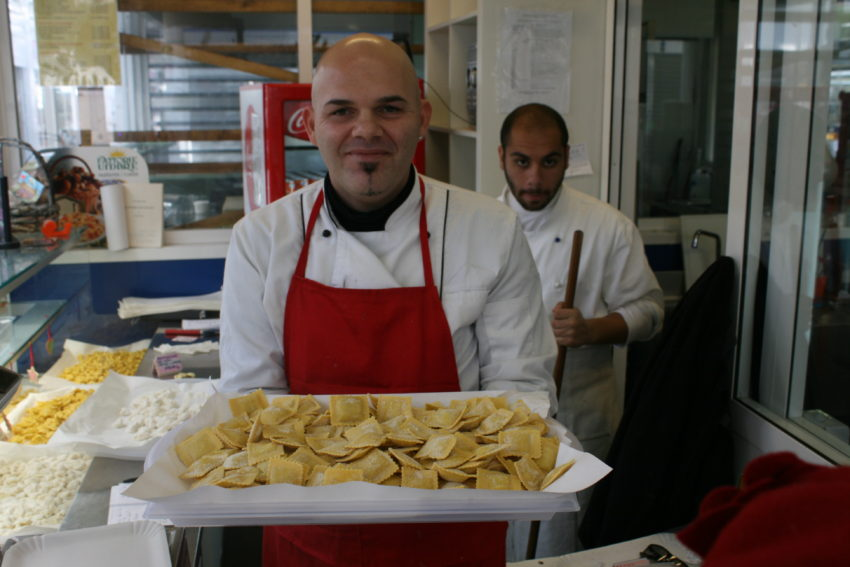 Mercato Testaccio near Rome's old slaughterhouse can make a bad cook into a good cook