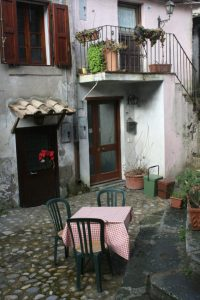 One of the charming courtyards.