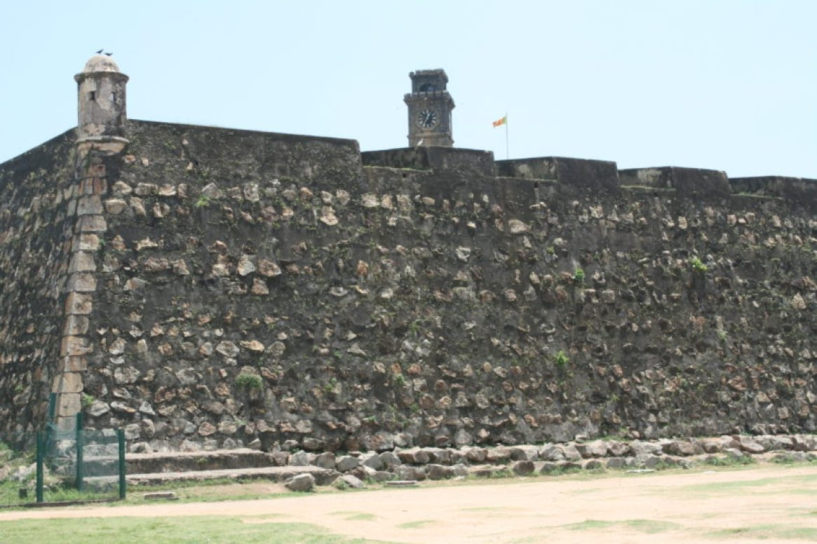 After the Dutch arrived in Ceylon in 1640, it built this massive fort, making Galle Ceylon's main port for 200 years.