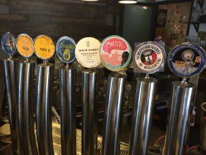 Hopificio  rotates nine beers on tap.