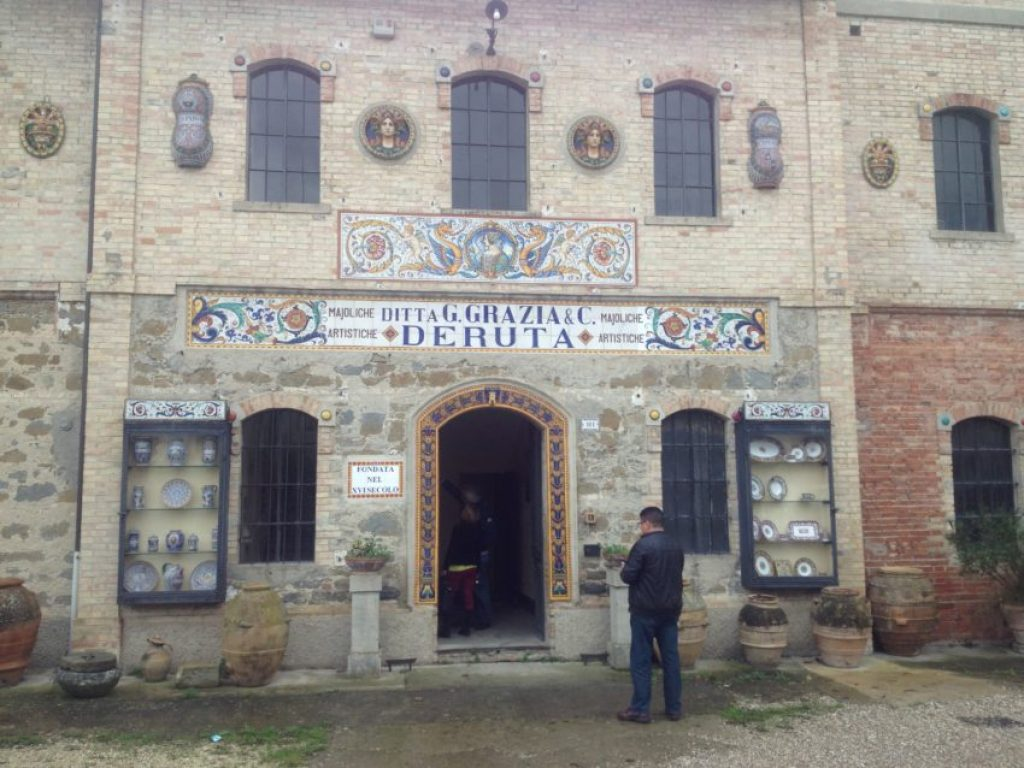 Ubaldo Grazia, home of some of the most beautiful ceramics in the world.