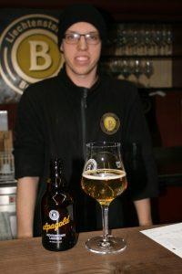 Ryan Tscjol at Liechtensteiner Brauhaus.