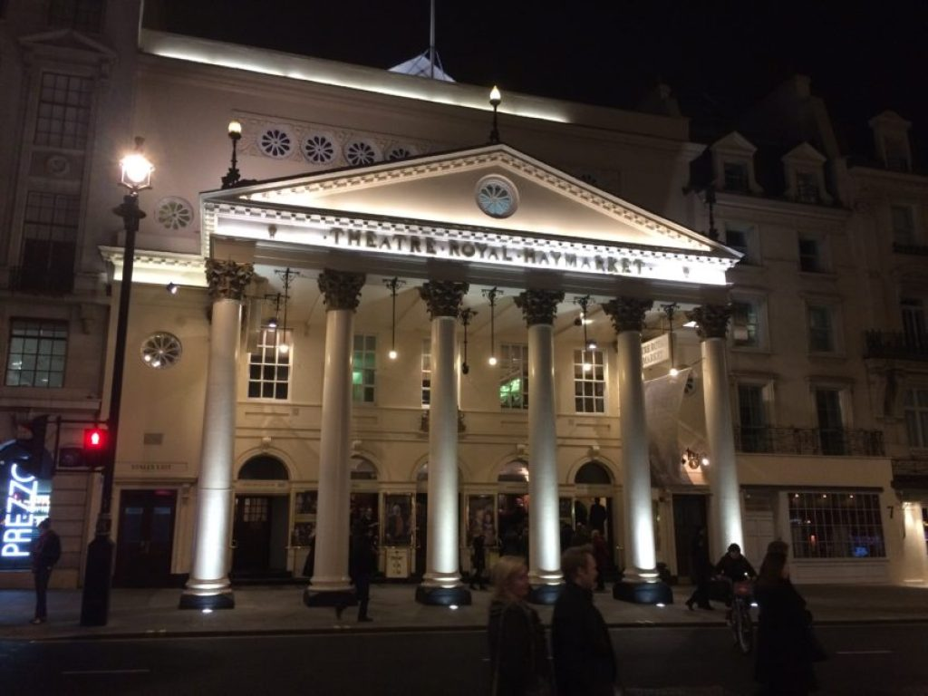 Theatre Royal Market was built in 1821 and is the third-oldest theater in London.