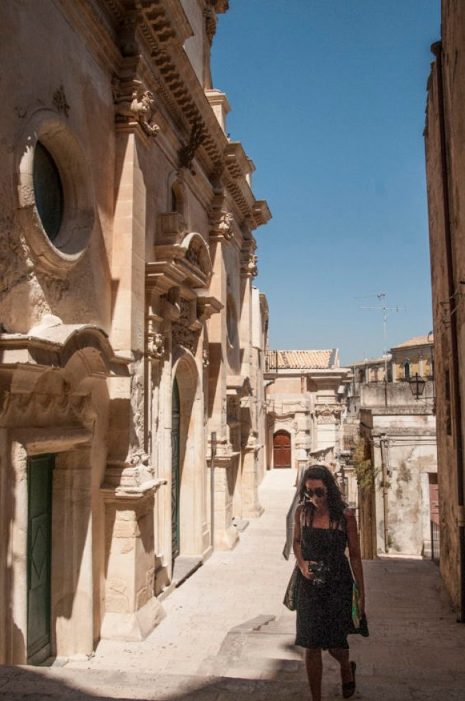 Ragusa's ghost town. Photo by Marina Pascucci.