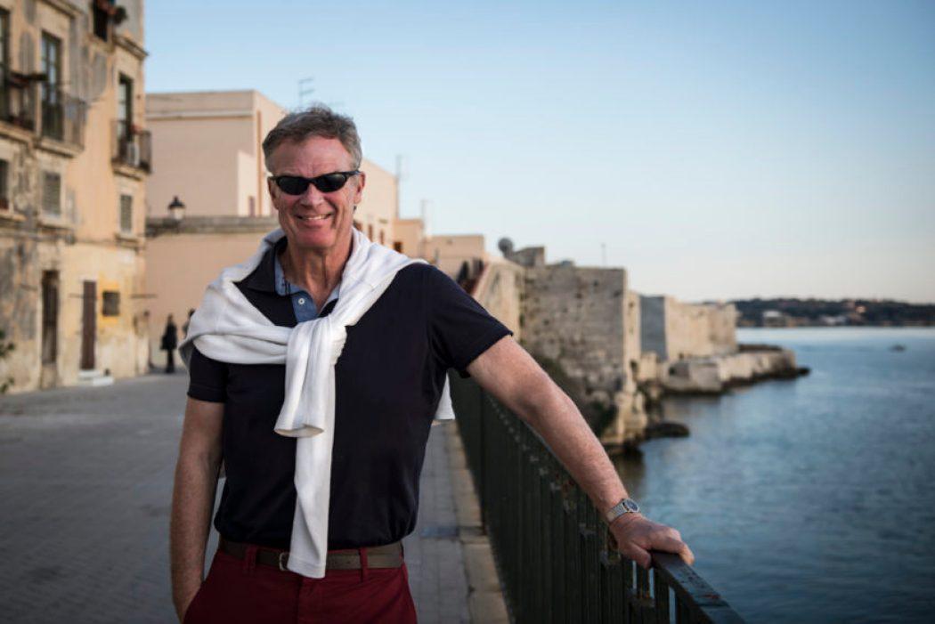 Celebrating my 60th birthday March 29 in Syracuse, Sicily.