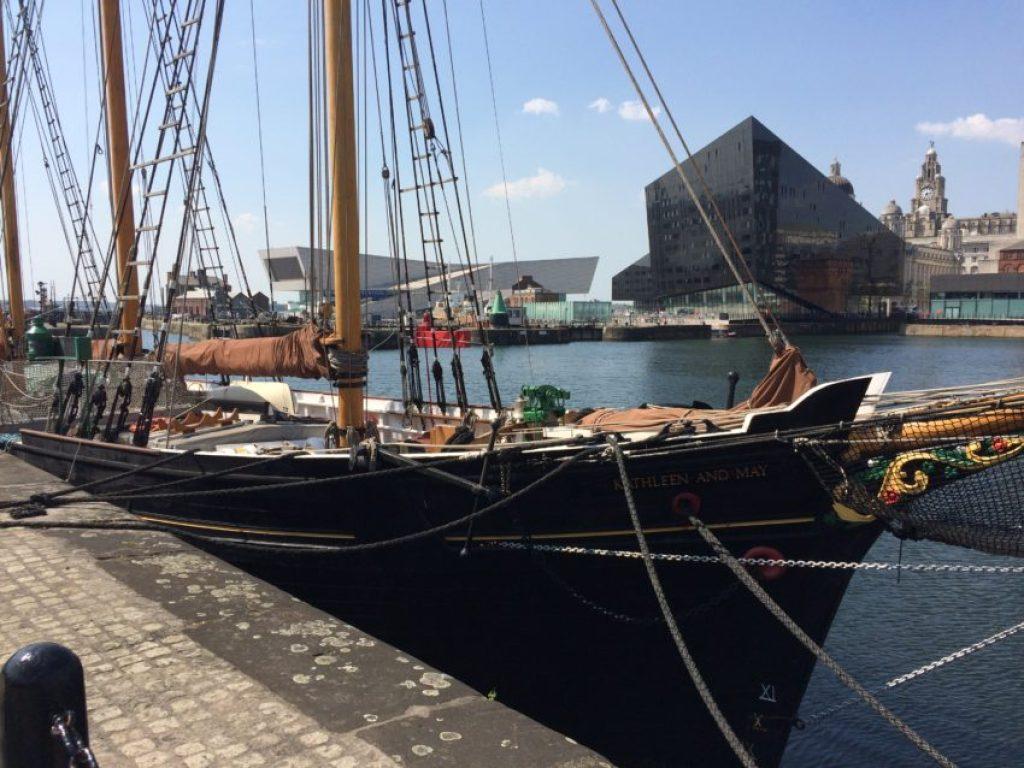 Albert Dock.