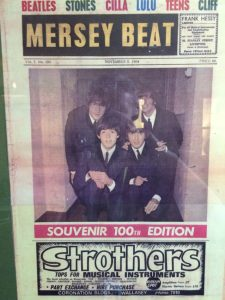 Music was so big in Liverpool, the scene had its own newspaper.