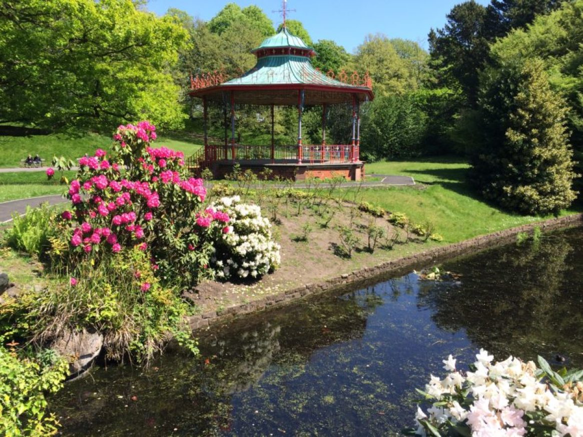 Sefton Park, established in 1872, is 235 acres of lakes, creeks, jogging paths and even a cricket pitch.