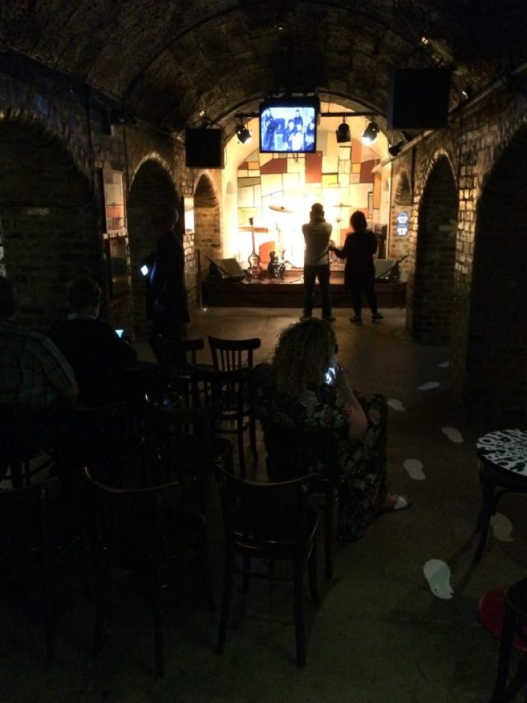 Replica of The Cavern, where The Beatles played 292 times.